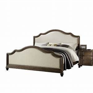 Plains Upholstered Standard Bed 26107EK