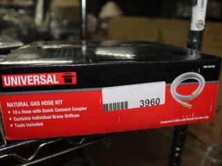 Universal Natural Gas hose Kit   10 ft