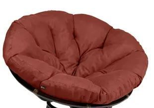 Classic Accessories Montlake 52 in  Dia Water Resistant Outdoor Papasan Cushion in Heather Indigo