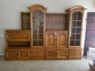 German Solid Oak Wood Cabinetry Shrunk NOTE Alternate Pickup location KC North
