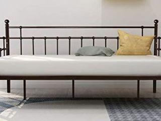 Metal Daybed Frame Twin Steel Slats Platform Base Box Spring Bed frame Mattress Not Included