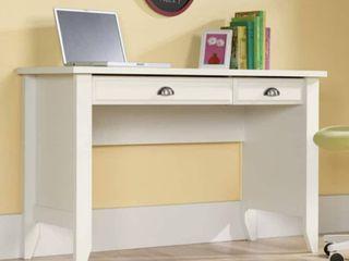 Shoal Creek Computer Desk with Slide Out Keyboard   Soft White   Sauder