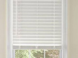 levolor 2in Faux Wood Blind  White  72  x 54