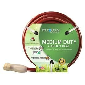 FlEXON 5 8 in x 100 ft Medium Garden Hose