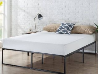 Zinus lorelai 14 Inch Metal Platform Bed Frame   Steel Slat Support
