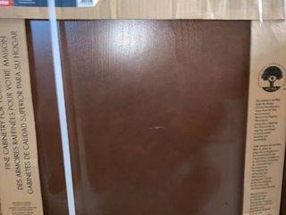 Diamond NOW Weyburn 24 in W x 30 in H x 12 in D Saddle Door Wall Stock Cabinet