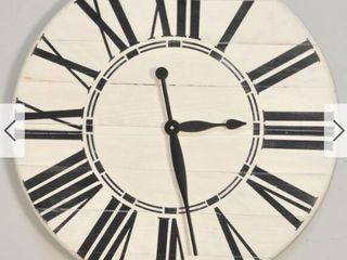 The Gray Barn Orchard Slope White Oversized Wall Clock Retail 155 00