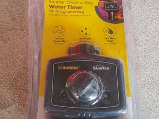 Melnor Sunrise Once a day Water Timer No Programming Sealed