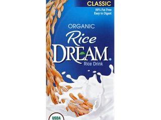 RICE DREAM  ORGANIC RICE DRINK  ORIGINAl ClASSIC