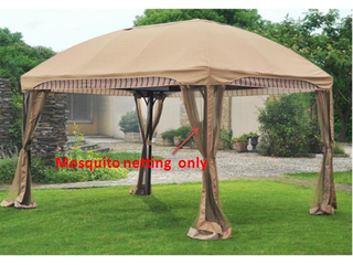 Sunjoy Replacement Mosquito Netting for Gazebo Model l GZ702PCO A