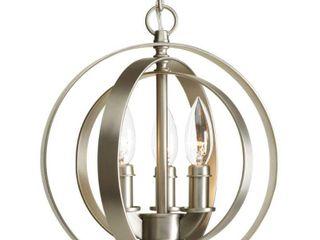 Progress lighting P5142 126 Three light Sphere Pendant