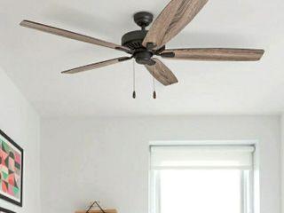 Porch   Den King Bronze Finish 60inch Reversible Blade Ceiling Fan w  Pullchains 60 Retail  129 99