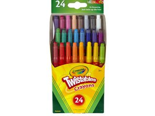 2 Pack  Crayola Mini Twistables Crayon Set  24 Count