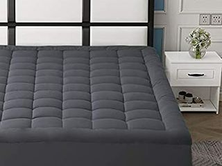 Hyleory Mattress Pad   King   grey