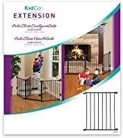 Kidco Black 24  Extension for Configure or Hearth Gate
