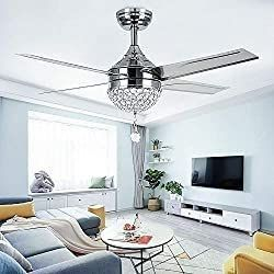42in Crystal Ceiling Fan TropicalFan