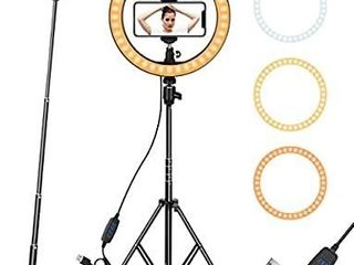 Ring light 10  with Tripod Stand   Phone Holder