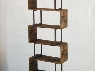 5 Tier ladder S Shape Bookshelf