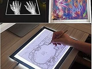A3 light Box  Cozonte light Pad Third level Touch Dimmer Super Bright Diamond Painting Accessories light pad Apply to DIY 5D Diamond Painting  Sketching  Designing