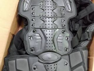 motorcycle full body armor XXl black