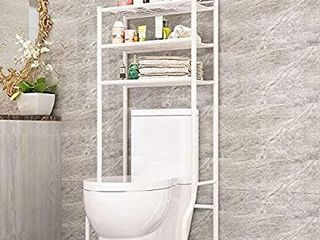 FKUO 3 Tier Bathroom Storage Rack Over The Toilet Storage