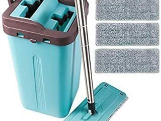 lETTON Microfiber Squeeze Mop and Bucket System