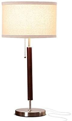 Brightech Carter Nightstand   Side Table lamp