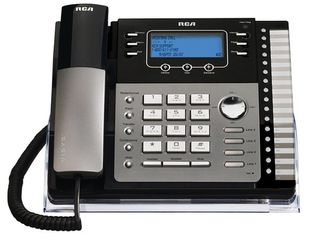 RCA   25424RE1 Corded Expandable Phone System   Black Gray