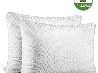 SORMAG Adjustable Shredded Memory Foam Pillows for Sleeping Queen Size