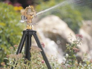 Orbit 58308N Telescoping Tripod Metal Sprinkler