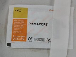 Smith   Nephew 7133 Primapore Non woven Adhesive Dressing  2 7 8  X 2    Qty 100