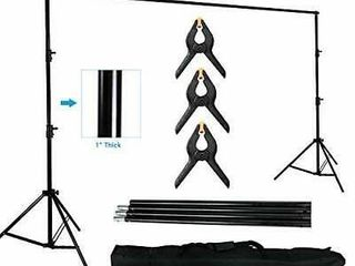 MOUNTDOG Photography Background Stand 10ft Backdrop Support System  6 5 10ft