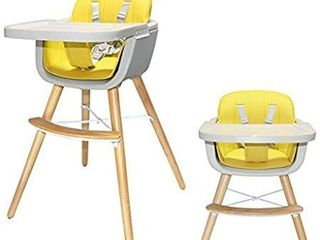 FOHO Premium Wooden High Chair