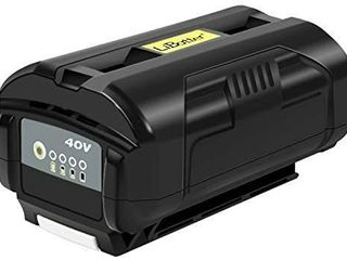 Powerful 40V Battery 4Ah 160Wh Compatible with Ryobi 40V Tools OP4015 OP4026 OP40201 OP40261 OP4030 OP40301 OP4040 OP40401 OP4050 OP40501 OP40601