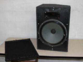 Pro Audio Speaker & Carpeted Cabinet