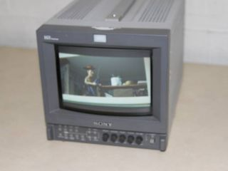 Sony PVM-9L3 Pro Video Color CRT Monitor - Great for Classic / Retro Gaming!