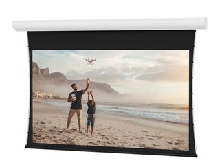 MSRP $3,000+ New Da-Lite Tensioned Contour Electric Video Projector / Projection Screen