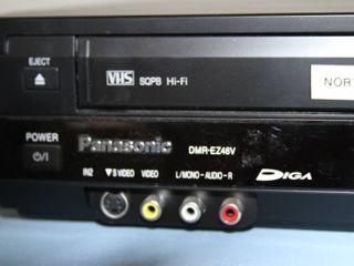 Panasonic DMR-EZ48V DVD & VCR Combination Combo Recorder w/ HDMI 1080p