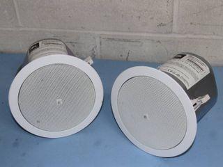 "Pair of JBL 6.5"" Control 26 CT Professional Audio Ceiling Loudspeakers / Speakers"