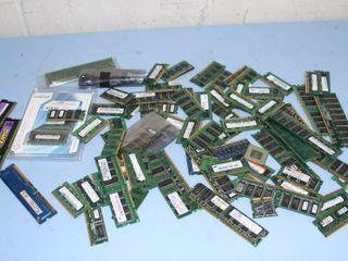 Box / Lot of Miscellaneous RAM Laptop / Desktop Computer Memory