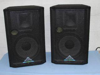 "Pair of Grund / Grundorf Pro Audio 12"" Full Range ST-Series Professional Speakers"