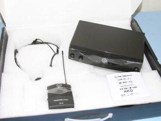 AKG Professional Perception 45 High Performance Wireless Head-Worn Microphone System