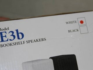 New PAIR of EMP Model E3B (White) Bookshelf Book Shelf Audio Speakers