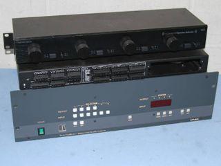 Pro Audio Video Equipment Lot - Kramer A/V Signal Matrix Switcher / Router & More!