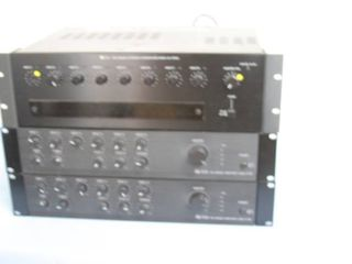 Lot of 3 TOA Professional Audio Amplifiers