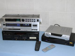Lot of Miscellaneous Audio & Video Equipment
