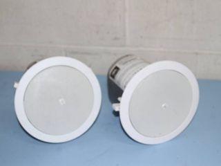 PAIR of JBL Professional Audio Control 24CT Background / Foreground Ceiling Loudspeakers Speakers