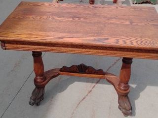 Vintage Oak Dining room table