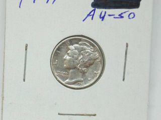 1941 Mercury Silver Dime