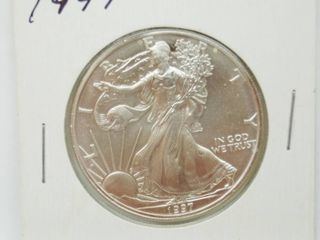 1997 American Eagle Silver Dollar Coin